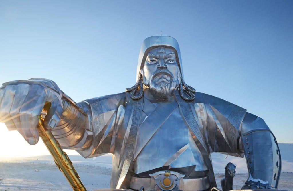 Gengis Kan fue el gran líder del Imperio Mongol.