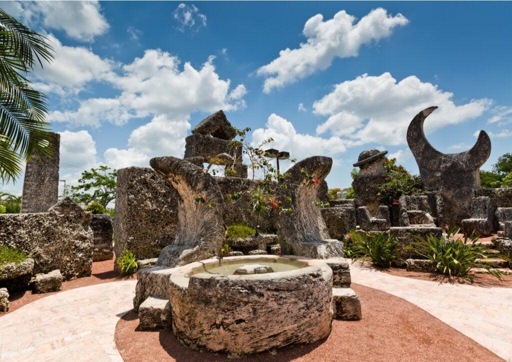 El Castillo de coral de Florida fue construido por un inmigrante letón.