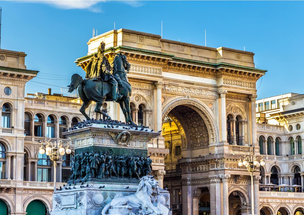 La belleza de la Galería Vittorio Emanuele puede ser una de las cosas que no sabías de Milán.