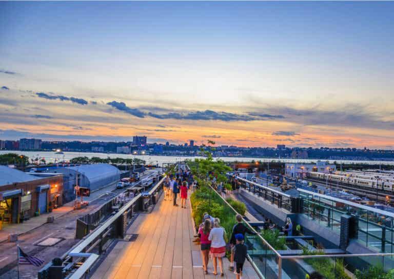 High Line: un parque en las alturas de Manhattan