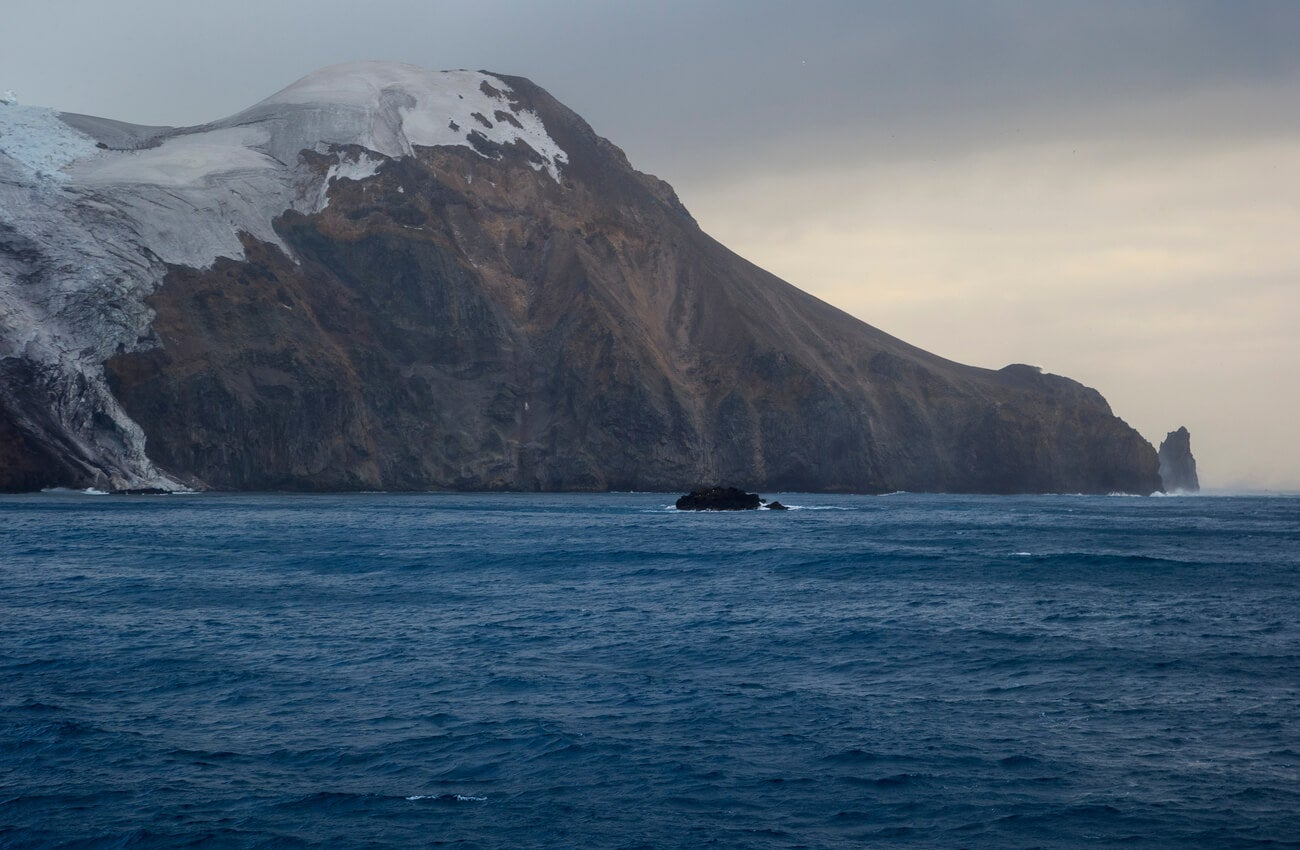 Esta isla se caracteriza por su clima inhóspito.