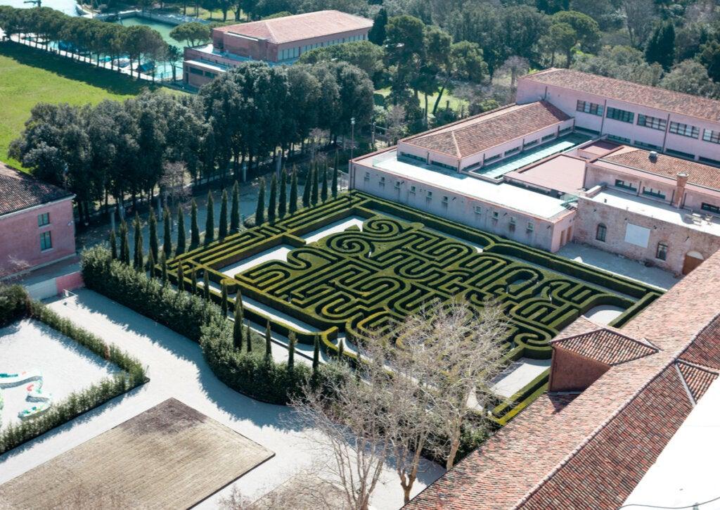 El laberinto de Borges fue inaugurado en 2011 en la isla de San Giorgio.