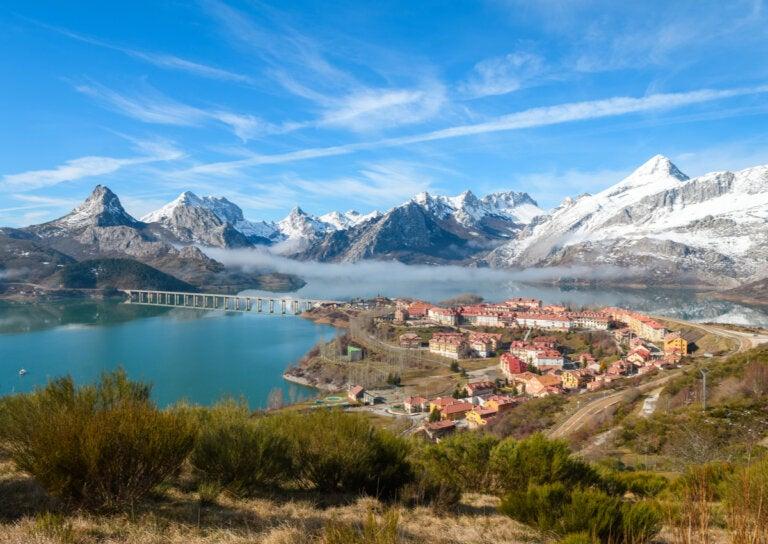 Riaño, un precioso pueblo de montaña