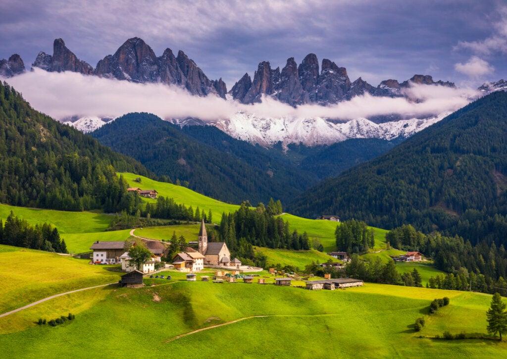 Los Alpes Italianos: ¿un lugar que inspira tranquilidad?