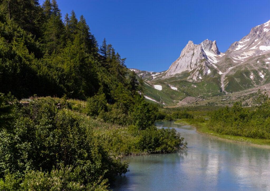 El Valle de Aosta ofrece tranquilidad en los Alpes Italianos.