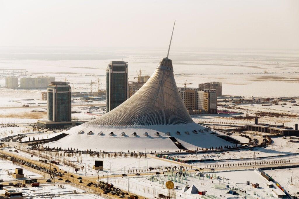 Nursultán es una de las ciudades más frías del mundo.