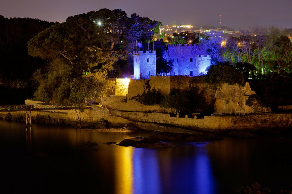 El de Santa Cruz fue una verdadera fortaleza marítima en Galicia en su momento.