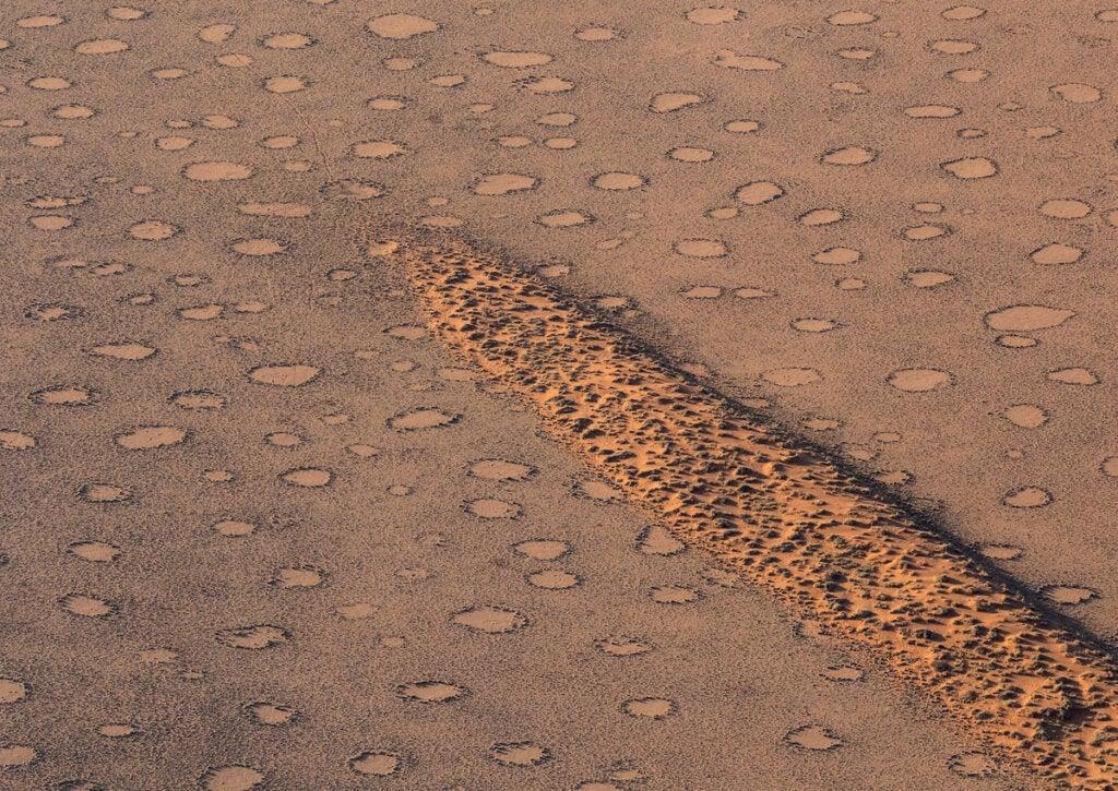 Los círculos de hadas de Namibia, un espectáculo único