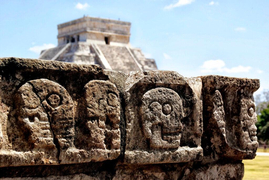 Muchos creen que la civilización maya proviene del continente de Mu.