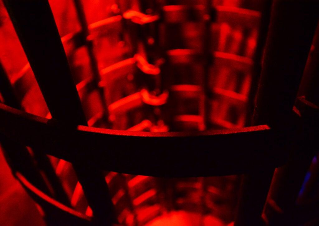Jaula medieval usada para torturar enemigos.