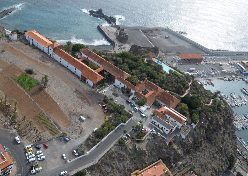 El Parador Nacional La Gomera, en las Islas Canarias.
