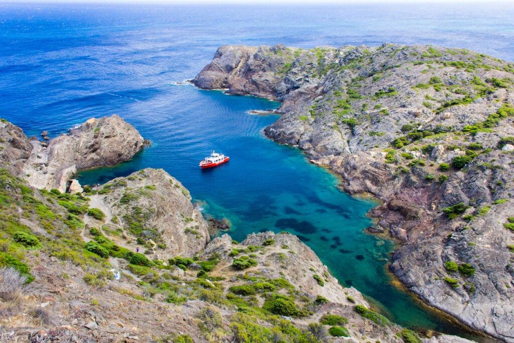 El Parque Natural Cabo de Creus permite apreciar paisajes muy bellos.