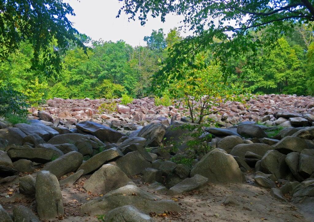Las intrigantes rocas resonantes de Pensilvania