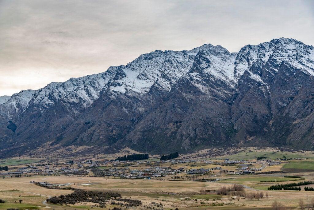 Queenstown es uno de los paisajes más impresionantes de Nueva Zelanda.