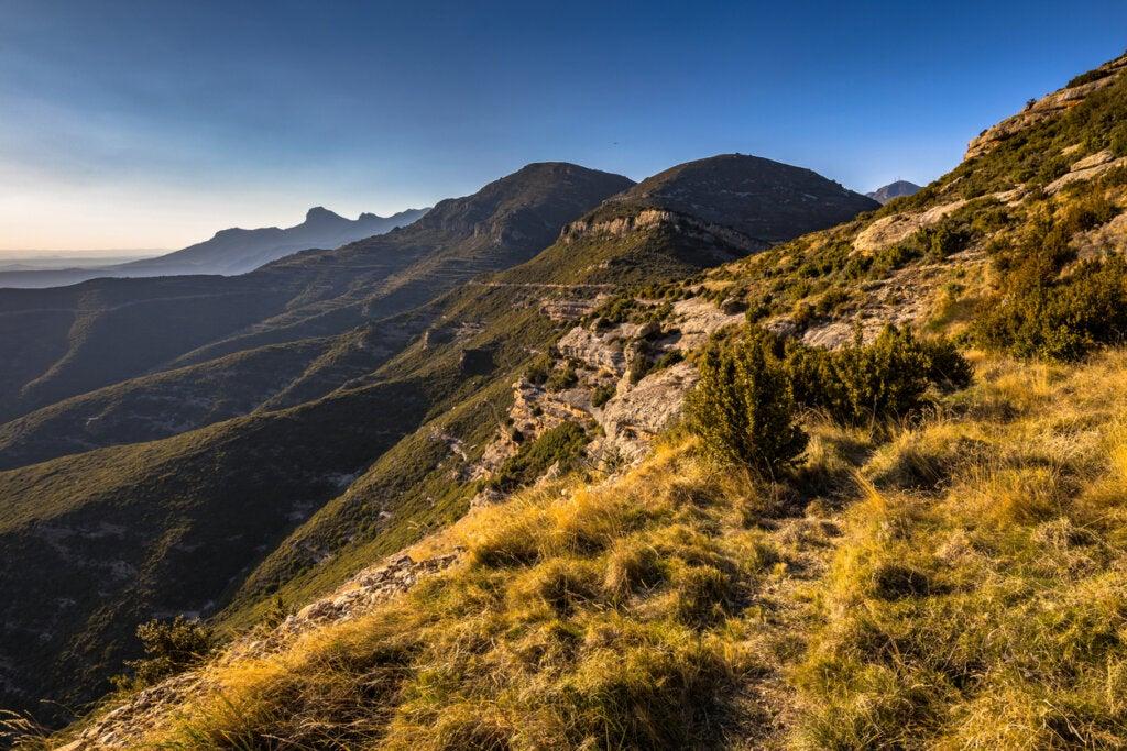 Las Sierras de Guara son un escenario ideal para el barranquismo en España.