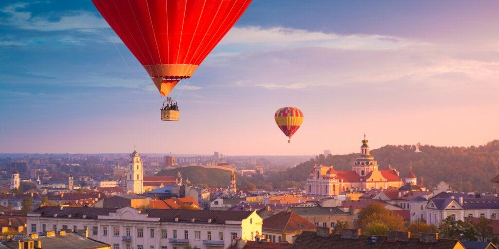 Vilna, en Lituania, es uno de los destinos más económicos de Europa.