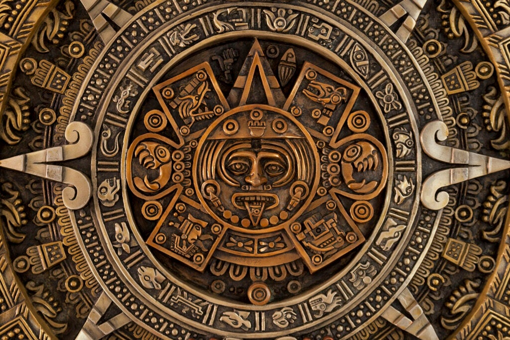 El calendario maya está entre los misterios de esta civilización
