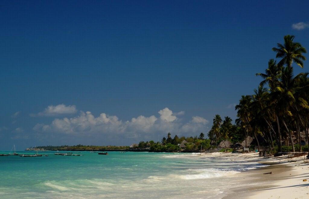 Jambiani es una playa ideal para la relajación.