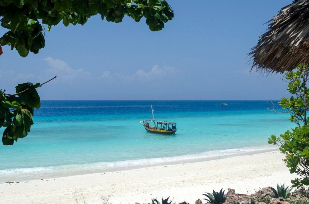 Playa Nungwi es una de las más destacadas de Zanzíbar.