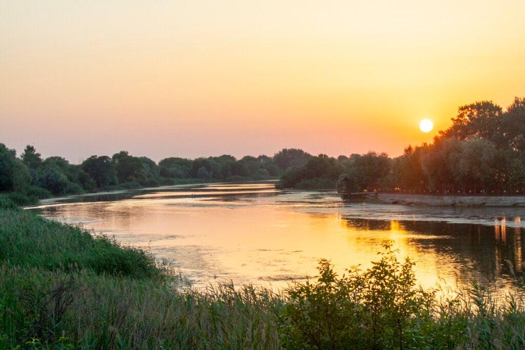 El río hirviente es un paisaje increíble en el Amazonas.