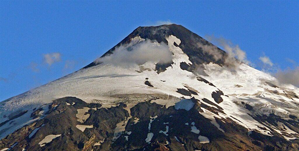 El volcán Villarica es uno de los más activos de Sudamérica.