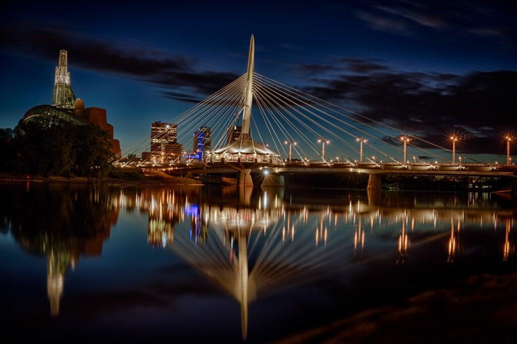 Winnipeg, una de las ciudades más bellas de Canadá.
