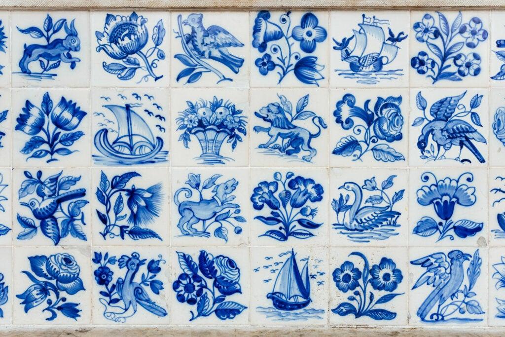Los famosos azulejos portugueses son herencia de la ocupación musulmana