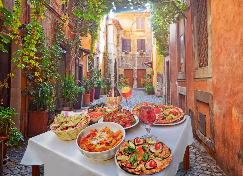 Por la frescura de sus ingredientes, Italia es uno de los destinos gastronómicos por excelencia.