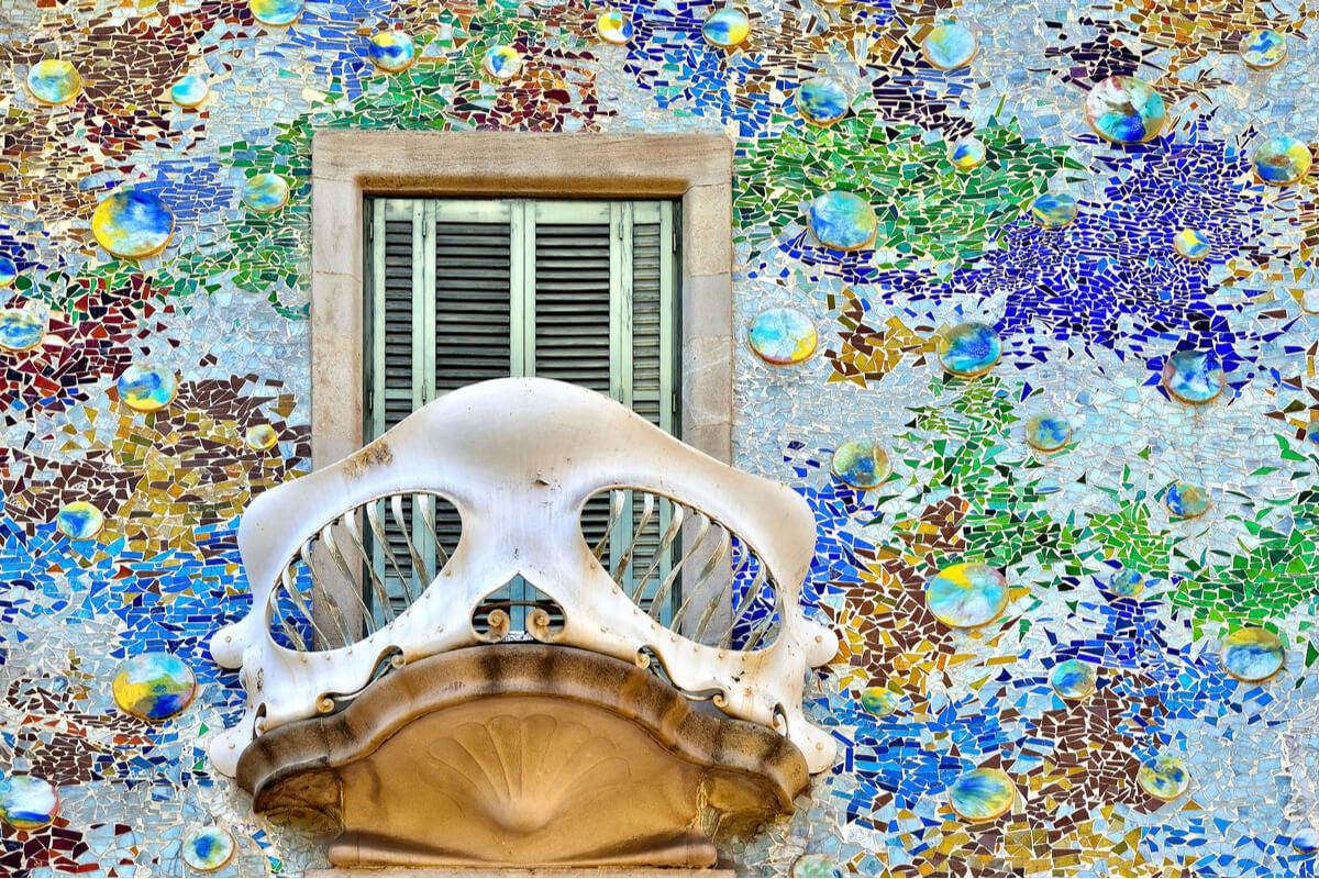Balcón de Casa Batlló