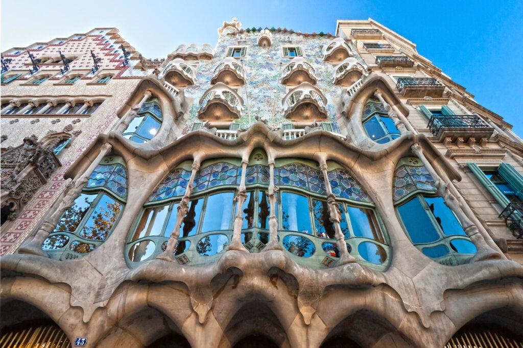 Casa Batlló en Barcelona: una obra del modernismo de Gaudí