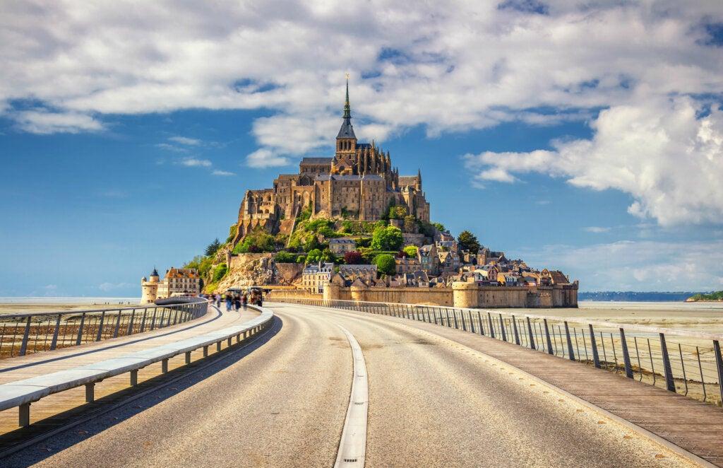 Monte Saint Michel: con la magia del mar a sus pies