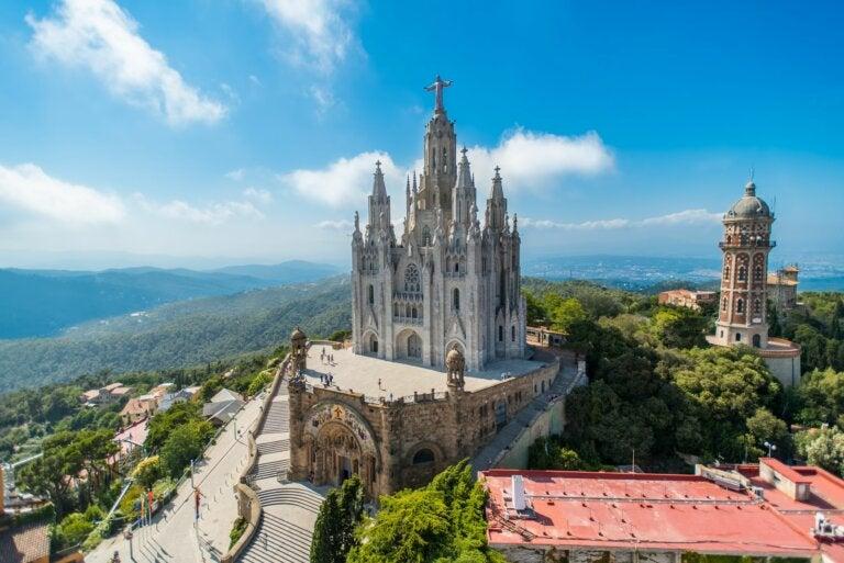El Templo Expiatorio del Sagrado Corazón en Barcelona