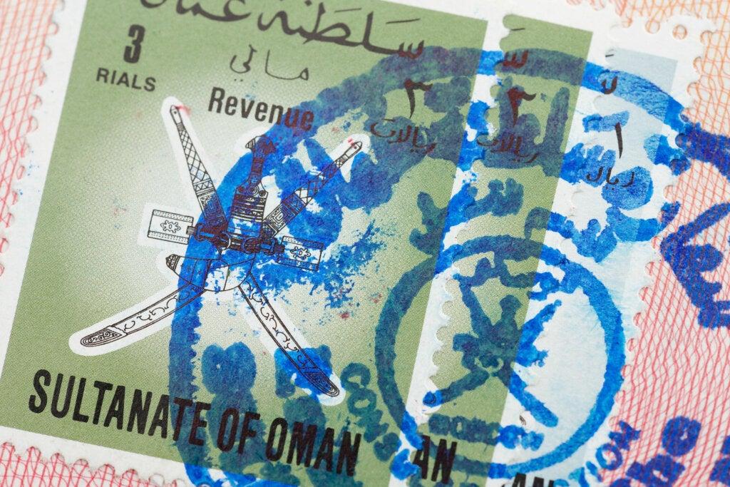 Requisitos para conseguir un visado para Omán