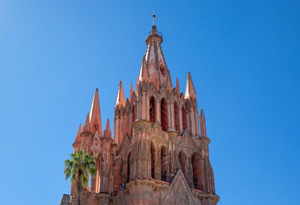 La culminación de la parroquia de San Miguel de Allende