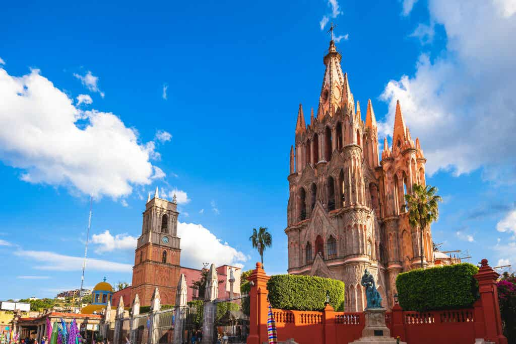 La parroquia de San Miguel de Allende