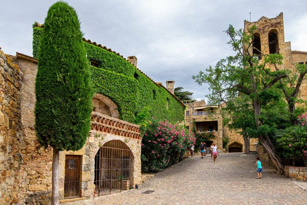 Pals: arrozales en Girona
