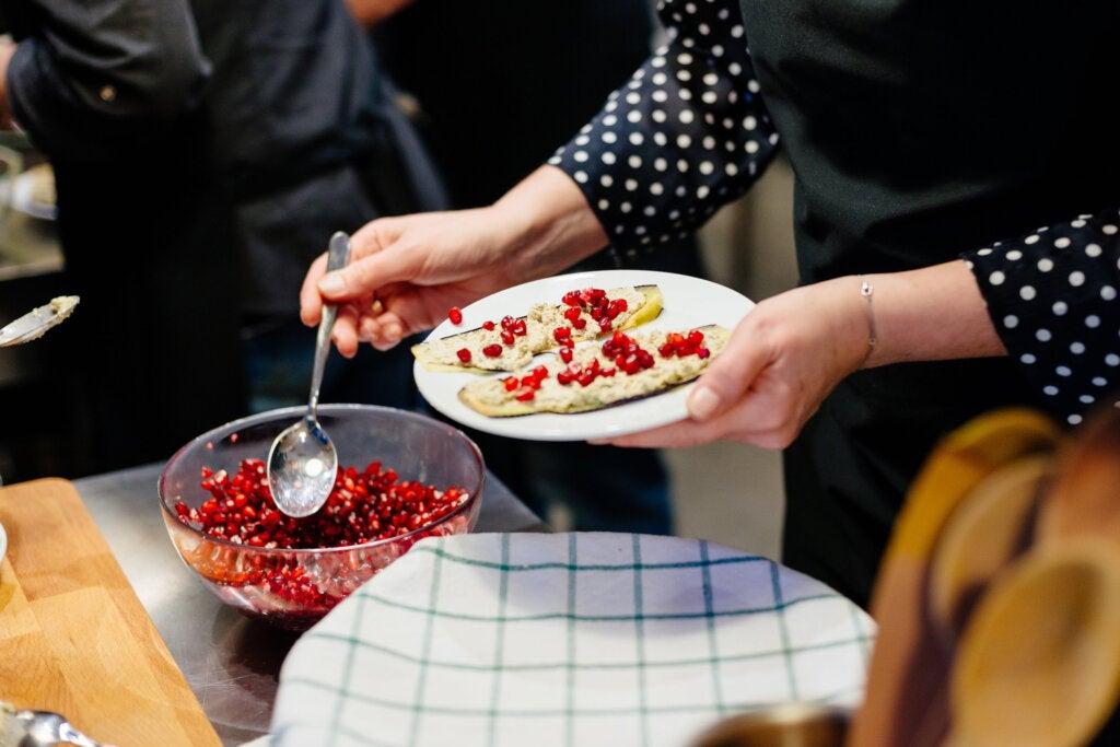 El badrijani esuno de los platos de Georgia más populares